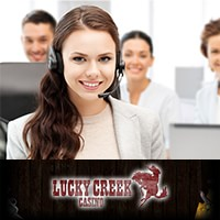 Lucky Creek Casino support