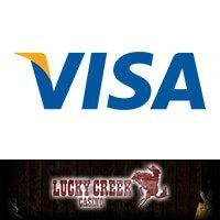 Lucky Creek Casino visa