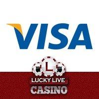 Lucky Live Casino Visa