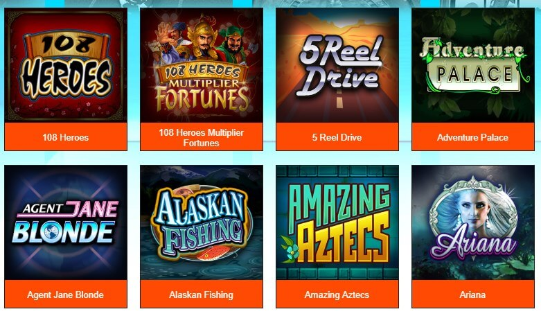 luckynugget casino Games