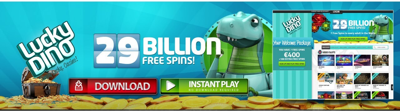 Play LuckyDino Casino