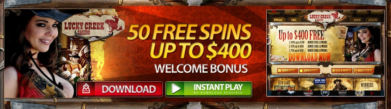 Play Lucky Creek Casino