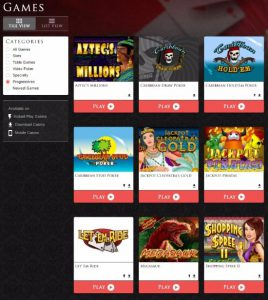 lucky red casino progressive jackpots