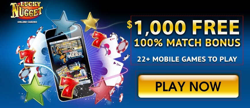 Lucky Nugget mobile casino games
