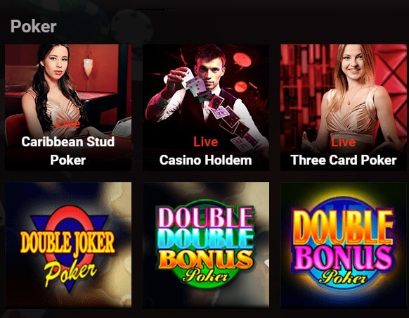 Lucky 247 poker games