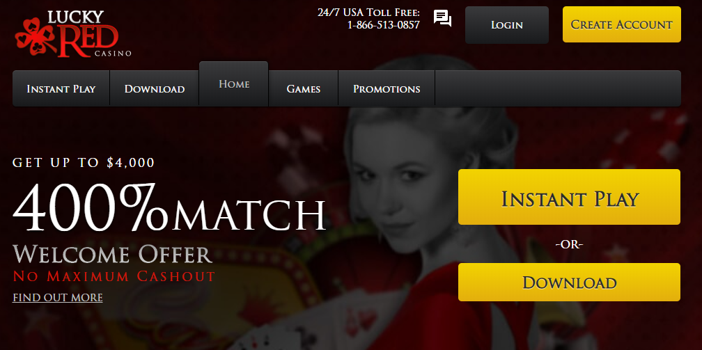 lucky red casino download