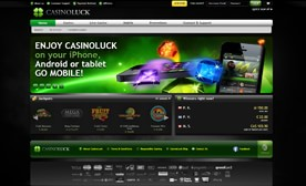 CasinoLuck – The Casino of the Future!
