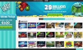 LuckyDino Casino – Have a simply lucky time!
