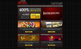 Lucky Red Casino – Got a 400% Match?