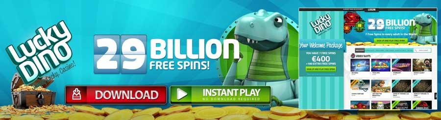 LuckyDino Casino – Have a simply lucky time!