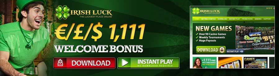 Irish Luck Casino – Be in the Luckiest Place Online