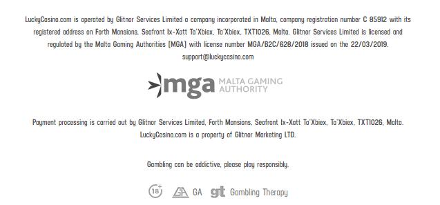 online casino licensing