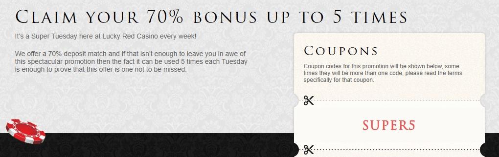 tuesday bonus