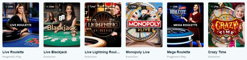 lucky days casino live