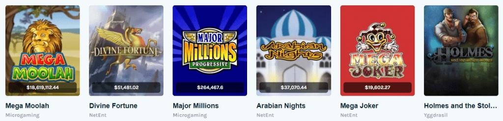 lucky days casino jackpots