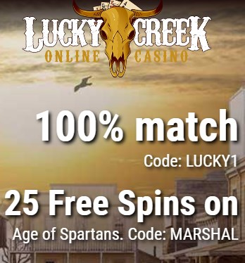 lucky creek casino bonus